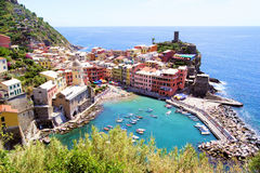 Vernazza Stock Image