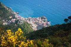 Vernazza from Above Stock Photography