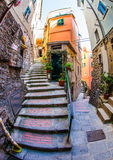 Vernazza Alleyway, Cinque Terre, Italy III Royalty Free Stock Photos