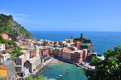 Vernazza beautiful view Royalty Free Stock Photos