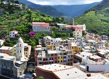 Vernazza beautiful view Stock Photos