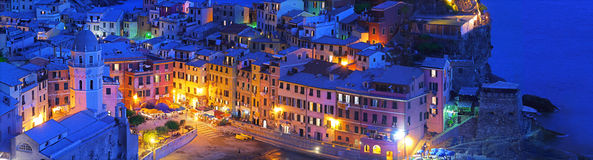 Vernazza brillant image stock