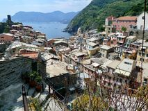 Vernazza in cinque terra Royalty Free Stock Photo
