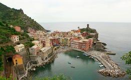 Vernazza - Cinque Terre Stock Afbeeldingen