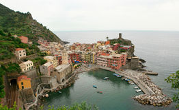 Vernazza - Cinque Terre Stockbilder