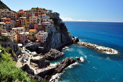 Vernazza, Cinque Terre Stock Afbeelding