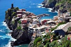 Vernazza, Cinque Terre Image stock