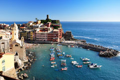 Vernazza, Cinque Terre Royalty Free Stock Photography