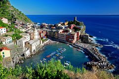 Vernazza, Cinque Terre Stock Photography