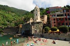 Vernazza in Cinque Terre Royalty Free Stock Photo