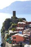 Vernazza, Cinque Terre Stockfotos