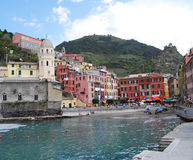 Vernazza-Cinque Terre Stock Afbeelding