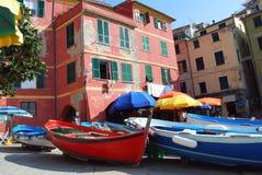 Vernazza-Cinque Terre Royalty-vrije Stock Afbeelding