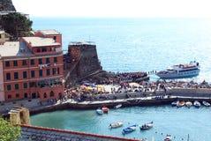 Vernazza-Cinque Terre Imagem de Stock Royalty Free