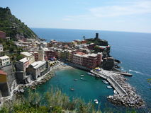 Vernazza, Cinque Terre Fotografia de Stock