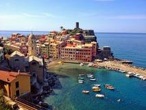 Vernazza, Cinque Terre Стоковые Фото