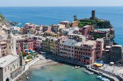 Vernazza - Cinque Terre Imagens de Stock