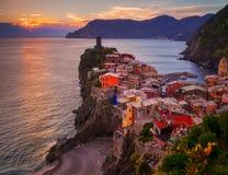 Vernazza, Cinque Terre Fotografía de archivo