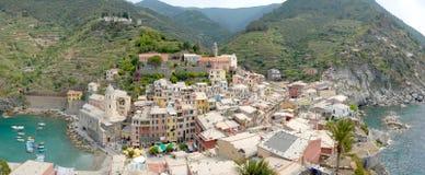 Vernazza, Cinque Terre Stock Foto's