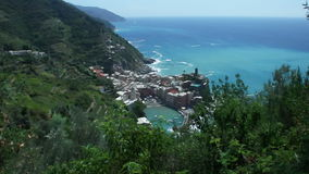 Vernazza Cinque Terre Coast stock video