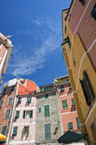 Vernazza cinque terre houses Royalty Free Stock Photography