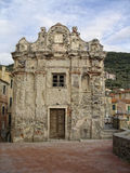Vernazza cinque terre houses Stock Images