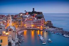 Vernazza, Cinque Terre, Itália imagens de stock