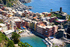 Vernazza, Cinque Terre, Italië Royalty-vrije Stock Foto's