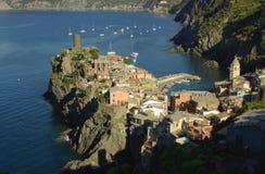 Vernazza, Cinque Terre, Italië Royalty-vrije Stock Foto