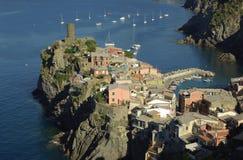 Vernazza, Cinque Terre, Italië Stock Afbeeldingen