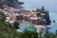 Vernazza, Cinque Terre, Italië Royalty-vrije Stock Fotografie
