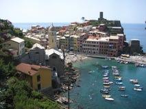 Vernazza, Cinque Terre, Italia Fotografía de archivo libre de regalías