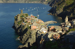 Vernazza, Cinque Terre, Italia Foto de archivo libre de regalías