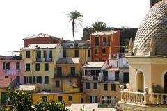 Vernazza, Cinque Terre - Italia Fotografia Stock Libera da Diritti