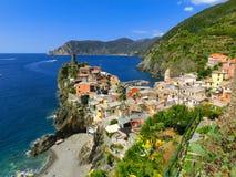 Vernazza, Cinque Terre Italia Fotografia Stock Libera da Diritti