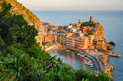 Vernazza, Cinque Terre (Italian Riviera, Liguria) Stock Photo