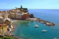 Vernazza, Cinque Terre, Italie Image stock