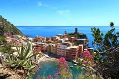 Vernazza, Cinque Terre, Italie Photographie stock libre de droits