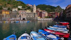 Vernazza, Cinque Terre, Italie banque de vidéos