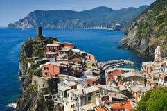 Vernazza Cinque Terre Italien lizenzfreie stockfotos