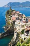 Vernazza Cinque Terre Italien lizenzfreie stockbilder