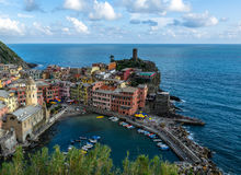 Vernazza, Cinque Terre, Italien Lizenzfreie Stockbilder