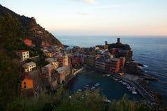 Vernazza, Cinque Terre, Italien Stockfotografie