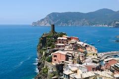 Vernazza Cinque Terre Italy Stock Image