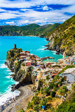 Vernazza, Cinque Terre Italy Stock Photography