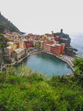Vernazza in Cinque Terre , Italy Stock Photo