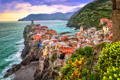 Free Vernazza, Cinque Terre, Italy Royalty Free Stock Images - 47001349