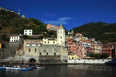 Vernazza, Cinque Terre, Italy Foto de Stock