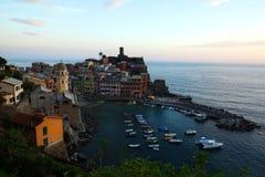 Vernazza, Cinque Terre, Italy Fotografia de Stock
