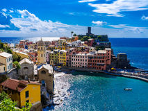 Vernazza Cinque terre Italy stock images